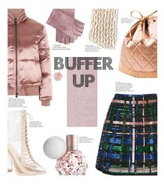 """""""Buffer up for the cold! TFS 8/1/17"""" by chalsouv ❤ liked on Polyvore featuring Topshop, Elie Saab, Chanel, Mario Portolano, Boohoo, puffers and buffer"""