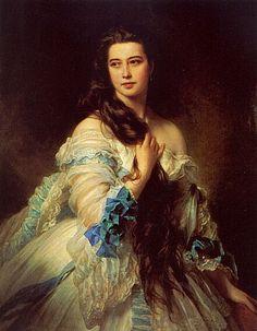 Madame Barbe de Rimsky-Korsakov by Franz Xavier Winterhalter