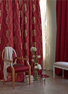 Gorgeous zimmer and rohde fabric--we have it at Window Works!