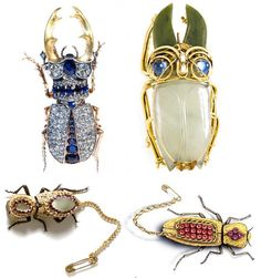 Aren't these creatures dazzling? Find more of these little darlings at Siam Gem Palace