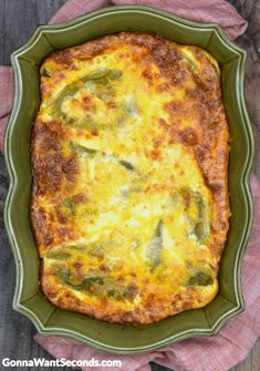 If you like Chiles Rellenos, this easy to make casserole is for you! This dish has all the flavor of a Chile Relleno without all the mess and fuss. Mexican Dishes, Mexican Food Recipes, New Recipes, Dinner Recipes, Cooking Recipes, Favorite Recipes, Mexican Meals, Mexican Cooking, Al Dente