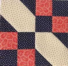 StitchinByTheLake I like this block... look hard, but then step back... easy block to make!