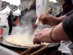 Gateau breton kouign amann video