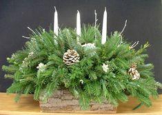 Christmas Arrangements - Centerpieces & Greenery Arrangements