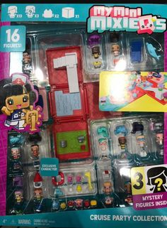 My mini Mixie Q's series 3 Cruise Party Collection Costco bundle pack