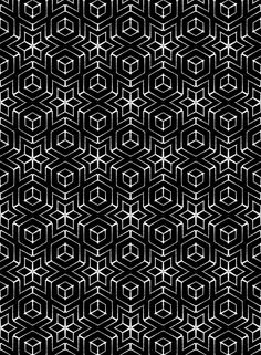 Treningsfelter Test ~ Thomas Hooper  #pattern #tessellation