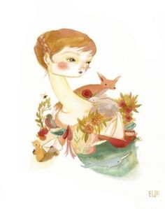 Wrap Your Troubles in Dreams Print by Emily Winfield Martin