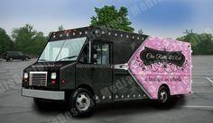 3D truck wrap design by David Bavati