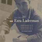 The Music of Ezra Laderman, Vol. 3: String Quartets 6, 7, 8 [CD]