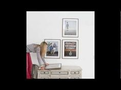 How-to hang a wall gallery: framed prints. Short video by @design aglow