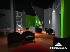 Concept Idea for Youth Room