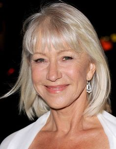 Helen Mirren hair | Do you colour your hair? Do you have a problem with grey hairs?
