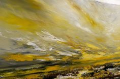Extra Large Artwork Palette Knife Abstract Painting Seascape Artwork Online, Large Artwork, Palette Knife Painting, Wooden Bar, Beautiful Morning, Original Art, Fine Art, Abstract, Summary