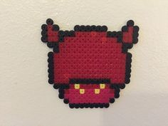 perler bead mushroom Devil - by Bjrnbr