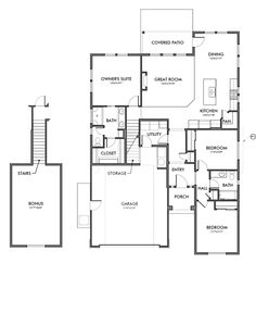 Washington Floor Plan By Brighton Homes Of Idaho
