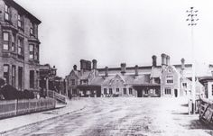 Yeovil Town Railway Station 1886.