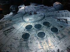 Photo: Millenium Falcon   Star Wars album   Peirce & Georg (his brother)   Fotki.com, photo and video sharing made easy.