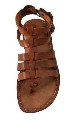Men Sandals - Sandali uomo in cuoio modello da gladiatore. link: www.sandalishop.it