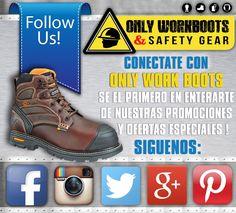 FOLLOW US! SIGUENOS! Mantente actualizado de todas nuestras promociones y ofertas especiales de los mejores precios en calzado tecnico laboral! Visitenos online @ WWW.ONLYWORKBOOTS.COM Llamenos al (305) 629-9029 o venga a nuestro Showroom ubicado en la 5121 NW 79th Ave Doral, Fl 33166! Hiking Boots, Shoes, Fashion, Footwear, Moda, Zapatos, Shoes Outlet, Fashion Styles, Shoe