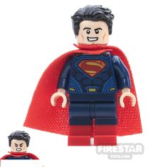 Superman lego minifigure