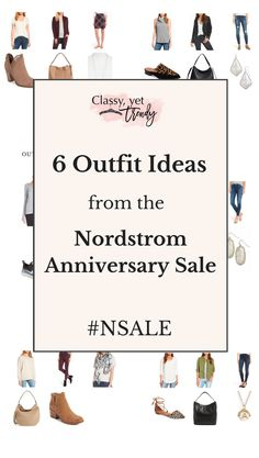 See these 6 outfit ideas, all items are in the Nordstrom Anniversary #NSALE Early Access Sale! These clothes, shoes, bags, jewelry and accessories feature the suede jacket, leather jacket, cowl neck sweater, white tee, skinny jeans, boots, booties, athleisure, crossbody, leopard flats, cardigan, all for your closet.