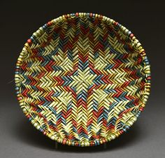 Twill Sifter Basket by Cheryl Chimerica (Hopi)