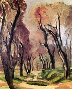 Lane of Olive Trees Henri Matisse- 1919