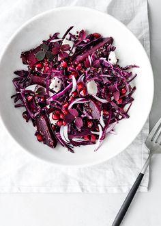 Rødbedesalat med quinoa og feta | foodfanatic.dk