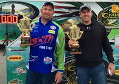 First Crappie Masters win for young guns Outlaw and Phibbs