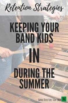 You've worked so hard to keep your students excited for band next year, but activities are starting to slow down.Spring concerts are happening & in just a few weeks, the band room will be empty.How do you keep your students interested in band when you don't see them everyday? Here are some band retention strategies, recruitment strategies, ideas & tips that will keep BAND fresh on your band student's minds. #banddirectorstalkshop #bandretention Music Sub Plans, Music Lesson Plans, Music Lessons, Music Classroom, Music Teachers, Future Classroom, Music Theory Games, Middle School Music, Elementary Music