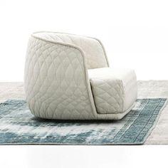 Redondo Armchair | Moroso | Easy chairs | Living | AmbienteDirect.com