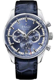 Zenith Watches - El Primero 36'000 VPH Stainless Steel - Style No: 03.2041.400/51.C496