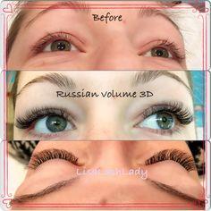 Eyelash extensions Ruvol www.facebook.com/LisaLashLady
