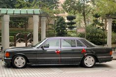 """The SEL """"Longbody"""" History & Picture Thread - Page 4 - Mercedes-Benz Forum Mercedes Benz Forum, Mercedes W126, Mercedes S Class, Benz S Class, Trains, Classic Cars, Garage, History, Friends"""