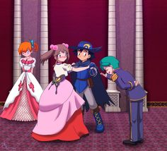 Oh my god imagine what would happen while they danced, Maybe they would have that feeling where its just the two of them in the ballroom sorta like in pride and prejudice Lusamine Pokemon, Pokemon Rayquaza, Pokemon Show, Pokemon Memes, Cute Pokemon, Pokemon Sketch, Digimon Cosplay, Pokemon Ash And Misty, Pokemon Couples
