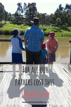 For all our fathers lost www.myhometruths.com I wrote this for my first Father's Day without my Dad. A year on and I still miss him desperately. A post for everyone who'd love to spend time with their fathers today but cannot. I feel you x
