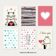 Cute love cards collection Love Cards, Diy Cards, Tarjetas Diy, Scrapbook Quotes, Project Life Cards, Diy Notebook, Candy Cards, School Decorations, Journal Cards