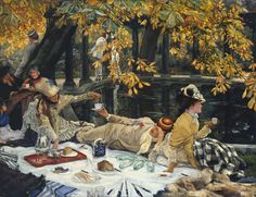 Eye Candy for Today: James Tissot's Holyday. Lines and Colors: http://linesandcolors.com/2014/10/15/eye-candy-for-today-tissots-holyday/