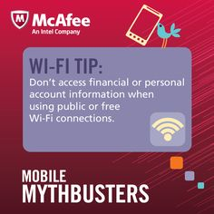 Want to keep your sensitive information to yourself? Follow this great tip when using public Wi-Fi!