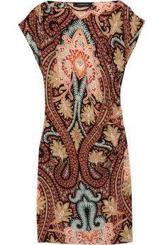 Thakoon - Printed silk crepe de chine dress