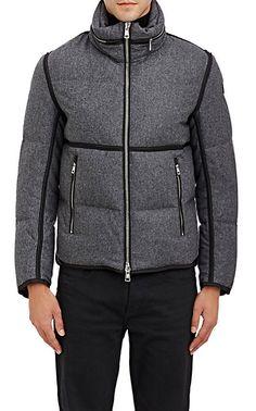 132b1ba0728b Moncler Combo Coat With Foldaway Hood - Down Puffers - Barneys.com Automne  Hommes
