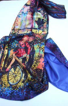 Romantic Renzvous Silk Scarf £75.00