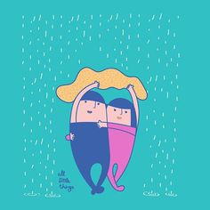I have got your covered ☔️ . . . .  #all_little_things#couple#relationship#love#kiss#drawing#sweet#moments#cute#superman#idea#startup#illustration#cartoon#character#artist#ukig#art#hkig#happy#sketch#iger#comic#香港#design#graphic #일러스트 #イラスト