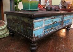 Trunk table, Etsy