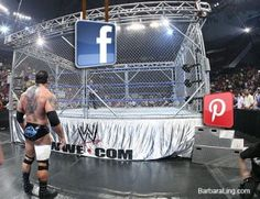 Ultimate Steel Cage Match: #Facebook Vs. #Pinterest #Infographics: Share Who Will Win!