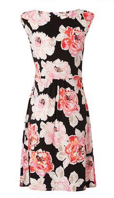 Spring Racing Fashion: Leona by Leona Edminston - Camelia Print Tunic Dress
