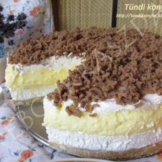 No Bake Treats, No Bake Desserts, Healthy Desserts, Sweet Recipes, Cake Recipes, Crazy Cakes, Hungarian Recipes, Cake Cookies, No Bake Cake
