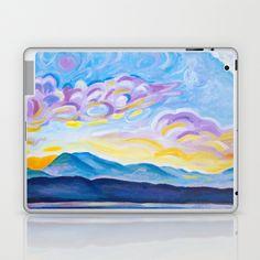 Jetstream and Comox Glacier Laptop & iPad Skin by Morgan Ralston - $25.00