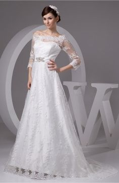 Allure Bridal Gowns with Sleeves Off the Shoulder Illusion Sexy Amazing