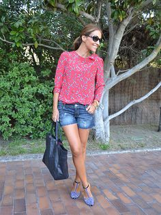 Paula Echevarría Look Butterflies